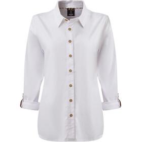 Sherpa Kiran Long Sleeve Shirt Women katha white